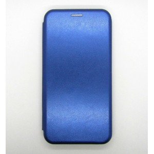 Чехол-книжка ориг кожа Samsung M10 (blue)