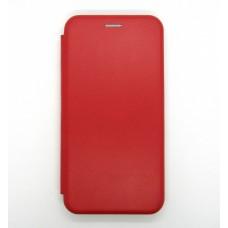 Чехол-книжка ориг кожа Samsung M10 (red)