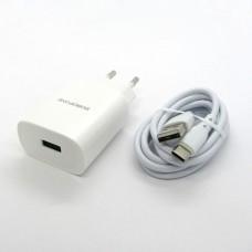 СЗУ Borofone + кабель Type-C BN1 (white)