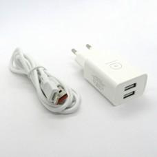 СЗУ WUW T38 блочек+кабель iPhone (white)