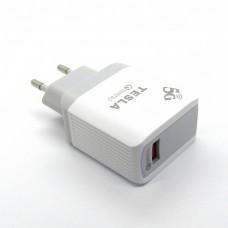 СЗУ Tesla 5G Fast (white) без упак