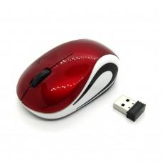 Мышка беспроводная Wireless Mouse mini (red-white)