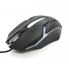 Мышка проводная Optical Mouse 3D (black)