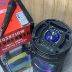 Колонка караоке с микрофоном ZQS6210W (black)