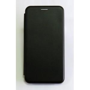 Чехол-книжка ориг кожа Huawei P Smart 2019 (black)