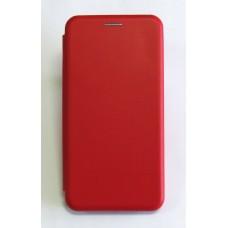 Чехол-книжка ориг кожа Huawei P Smart 2019 (red)