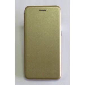 Чехол-книжка ориг кожа Meizu C9 (gold)