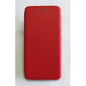 Чехол-книжка ориг кожа Meizu C9 (red)
