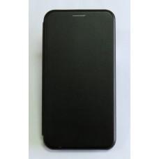 Чехол-книжка ориг кожа Meizu 16TH (black)
