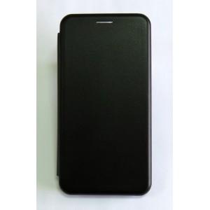 Чехол-книжка ориг кожа Meizu Note8 (black)