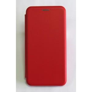 Чехол-книжка ориг кожа Meizu Note8 (red)