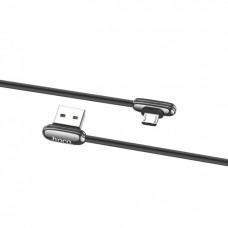 Data cable Hoco U60 micro-USB угловой оригинал (gray)