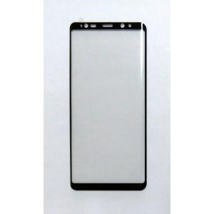 Стекло Samsung Note 8 4D (black)