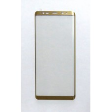 Стекло Samsung Note 8 4D (gold)