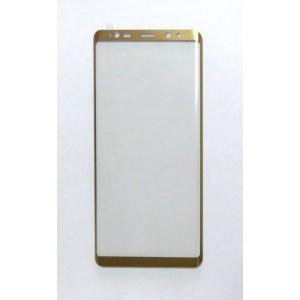 Стекло Samsung Note 8 4D (gold)