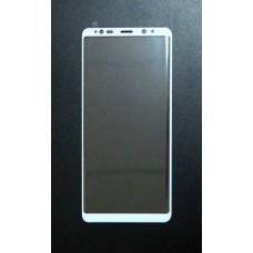 Стекло Samsung Note 8 4D (white)
