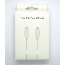 Data cable Type-C - Type-C white