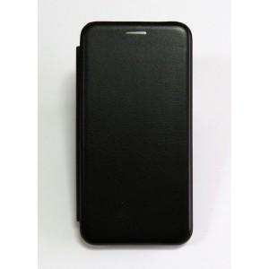 Чехол-книжка ориг кожа Xiaomi Redmi 6A (black)