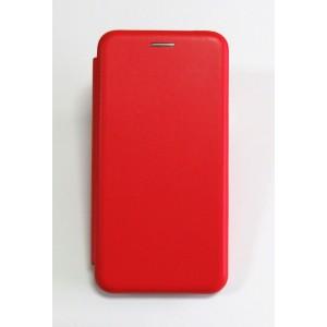 Чехол-книжка ориг кожа Xiaomi Redmi 6A (red)