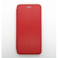 Чехол-книжка ориг кожа Xiaomi Redmi 6 (red)