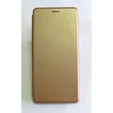 Чехол-книжка ориг кожа Xiaomi Redmi S2 (gold)