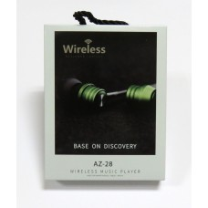 Hands Free Wireless AZ-28 bluetooth (gold)