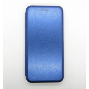 Чехол-книжка ориг кожа Xiaomi Redmi 6A (blue)