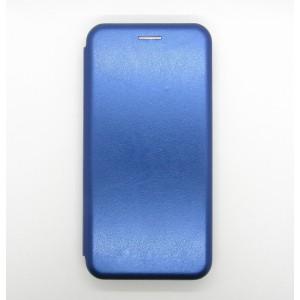 Чехол-книжка ориг кожа Xiaomi Redmi 6 (blue)