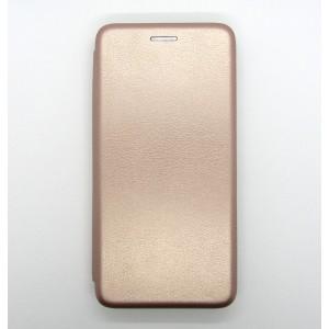 Чехол-книжка ориг кожа Xiaomi Redmi 7A (rose-gold)