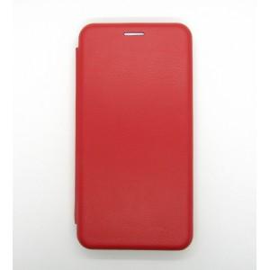 Чехол-книжка ориг кожа Xiaomi MI A3 (red)