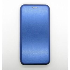 Чехол-книжка ориг кожа Xiaomi MI9 SE (blue)