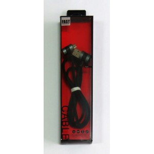 Data Cable Fast угловой micro-USB (black)