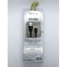 Data Cable Tesla micro-USB (black)