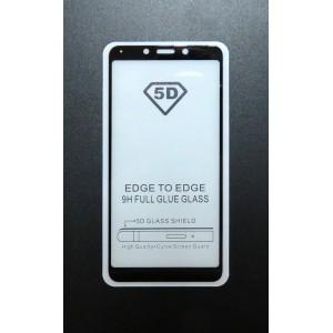 Стекло Xiaomi Redmi 6A 5D (black)