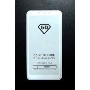 Стекло Xiaomi Redmi 6A 5D (white)