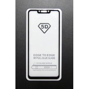 Стекло Huawei P smart + 2019 5D (black)