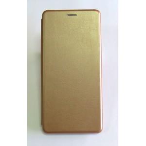 Чехол-книжка ориг кожа Xiaomi Redmi S2 (rose-gold)