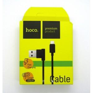 Data cable hoco premium micro USB (black)