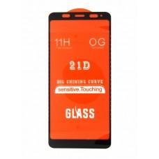 Стекло Xiaomi Redmi Note 5 21D (black)