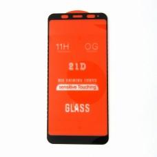 Стекло Xiaomi Redmi 5+ 21D (black)