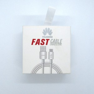 Data Cable HUAWEI Fast micro-USB (white)