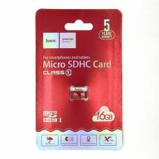 Карта памяти Hoco micro-SD 16GB
