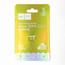 Карта памяти Hoco micro-SD 32GB