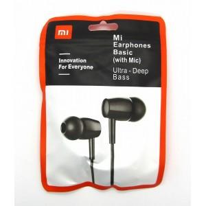Hands Free Xiaomi Mi  Basic с микрофоном в пакете (black)