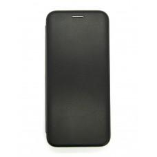 Чехол-книжка ориг кожа Samsung A51 (black)