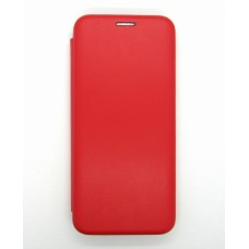 Чехол-книжка ориг кожа Samsung A51 (red)