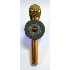 Караоке микрофон WS-668 (gold)