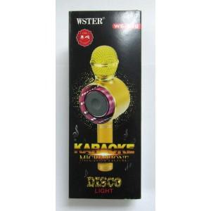 Караоке микрофон WS-668 (rose-gold)