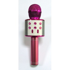 Караоке микрофон WS-858 (pink)