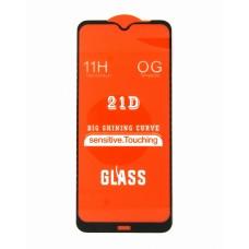 Стекло Xiaomi Redmi Note 8T 21D (black)